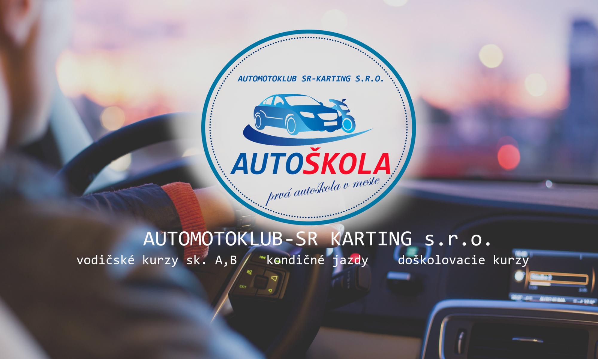 Autoškola AMK-SR karting s.r.o.